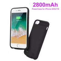 Battery-Case - PP03-4.7 Black. Ultra Thin чехол-аккумулятор для iPhone 8/7/6s/6