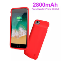 Battery-Case - PP03-4.7 Red. Ultra Thin чехол-аккумулятор для iPhone 8/7/6s/6 1